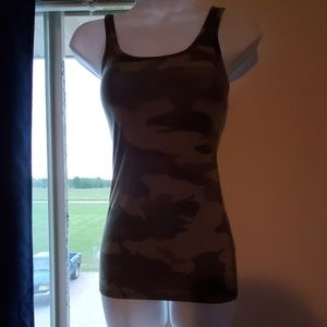 Small Fitted Camo Tank